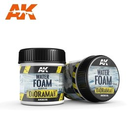 AK Interactive AK Interactive - WATER FOAM - 100ml (Acrylic)