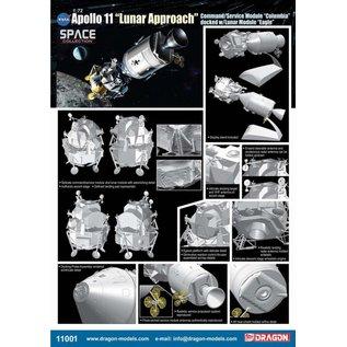 """Dragon Apollo 11 """"Lunar Approach"""" - 1:72"""