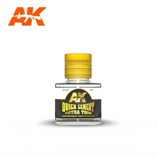 AK Interactive QUICK CEMENT EXTRA THIN - 40ml