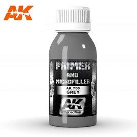 AK Interactive AK Interactive - Grey primer and Microfiller / Grundierung und Füller, grau