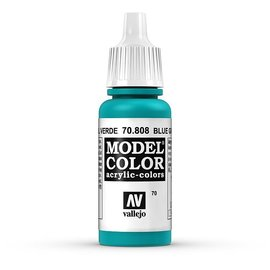 Vallejo Vallejo - Model Color - 808 - Blaugrün (Blue Green), 17 ml