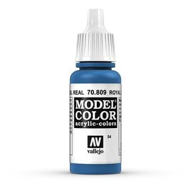 Vallejo Vallejo - Model Color - 809 - Königsblau (Royal Blue), 17 ml