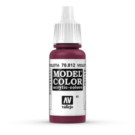 Vallejo Vallejo - Model Color - 812 - Violett (Violet Red), 17 ml