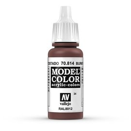 Vallejo Vallejo - Model Color - 814 - Rot Gebrannt (Burnt Red), 17 ml