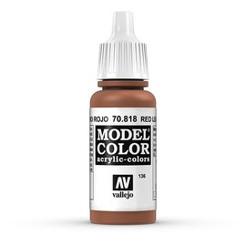 Vallejo Vallejo - Model Color - 818 - Rotes Leder (Red Leather), 17 ml