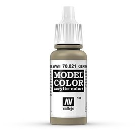 Vallejo Vallejo - Model Color - 821 - Tarnung Beige (German Camo Beige WWII), 17 ml