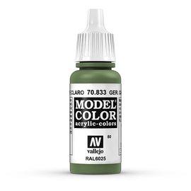 Vallejo Vallejo - Model Color - 833 - Hellgrüne Tarnung (German Camo Bright Green), 17 ml
