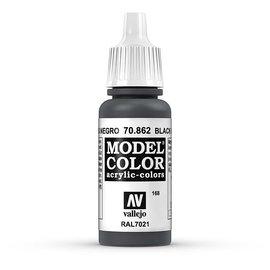 Vallejo Vallejo - Model Color - 862 - Schwarzgrau (Black Grey), 17 ml