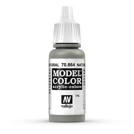 Vallejo Vallejo - Model Color - 864 - Stahlgrau (Natural Steel), 17 ml