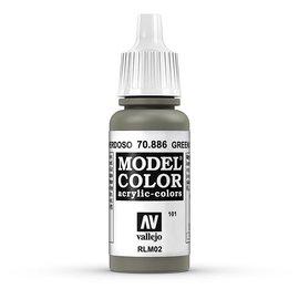 Vallejo Vallejo - Model Color - 886 - Grüngrau (Green Grey), 17 ml