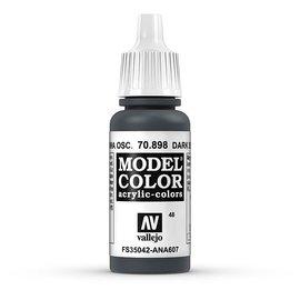 Vallejo Vallejo - Model Color - 898 - Schwarzblau (Dark Sea Blue), 17 ml
