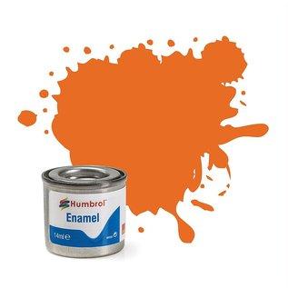 Humbrol  018 Orange, glänzend