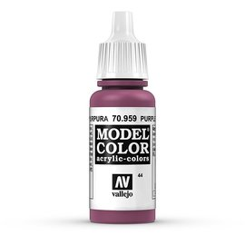 Vallejo Vallejo - Model Color - 959 - Rotviolett (Purple), 17 ml