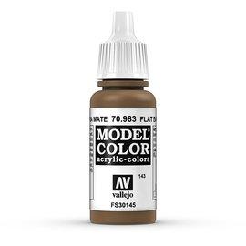 Vallejo Vallejo - Model Color - 983 - Terrabraun Hell (Flat Earth), 17 ml