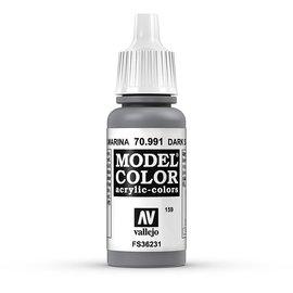 Vallejo Vallejo - Model Color - 991 - Staubgrau (Dark Sea Grey), 17 ml
