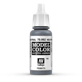 Vallejo Vallejo - Model Color - 992 - Neutralgrau (Neutral Grey), 17 ml