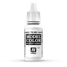 Vallejo Vallejo - Model Color - 993 - Grauweiss (Flat Aluminium), 17 ml