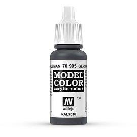Vallejo Vallejo - Model Color - 995 - Anthrazitgrau (German Grey), 17 ml