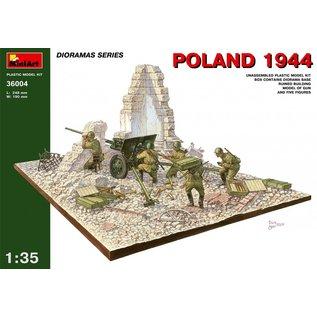 MiniArt Polen 1944 mit Russischer Artillerie  - 1:35