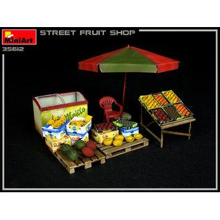 MiniArt Street Fruit Shop  - 1:35