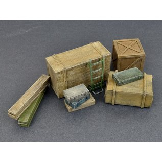 MiniArt Wooden Boxes & Crates  - 1:35