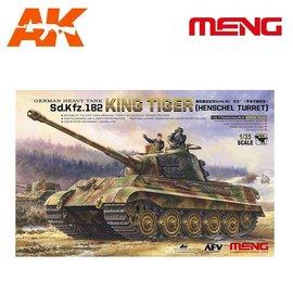 MENG MENG - German Heavy Tank Sd.Kfz.182 King Tiger (Henschel Turret) - 1:35