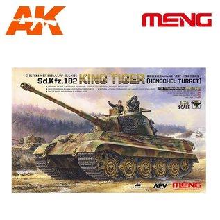 MENG German Heavy Tank Sd.Kfz.182 King Tiger (Henschel Turret) - 1:35