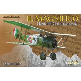 Eduard Eduard - IL MAGNIFICO Hanriot HD.I in Italian service,Limited Edition  - 1:48
