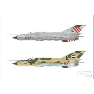 Eduard MiG-21MF, Super44  - 1:144