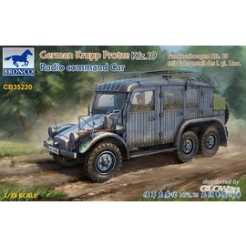 Bronco Models Bronco Models - German Krupp Protze Kfz.19 Radio command Car  - 1:35