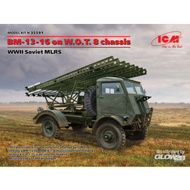 ICM ICM - BM-13-16 on W.O.T. 8 chassis, WWII Soviet MLRS  - 1:35