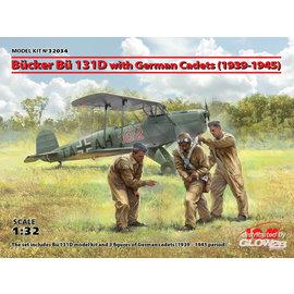 ICM ICM - Bücker Bü 131D w.German Cadets(1939-45) Limited - 1:32