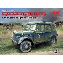ICM ICM - le. gl. Einheits-PKW Kfz. 1 - Soft Top - 1:35