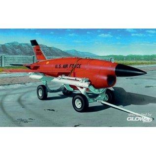 Plusmodel Firebee BQM-34 with transpoprt cart - 1:72