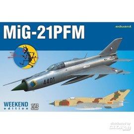Eduard MiG-21PFM, Weekend Editiont - 1:72