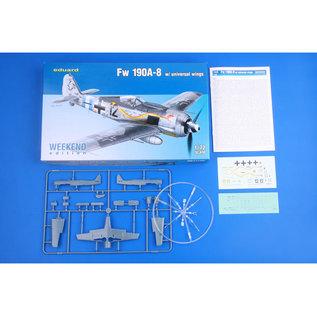 Eduard Eduard -  Fw 190A-8 w/universal wings Weekend Edition - 1:72