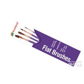 Humbrol Humbrol - Pinsel Set - flach 3,5,7,10
