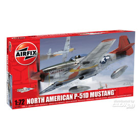 Airfix Airfix - North American P-51D Mustang  - 1:72