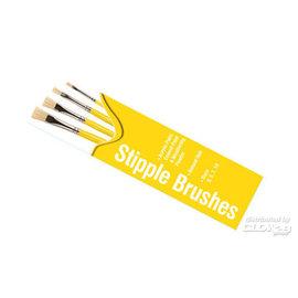 Humbrol Humbrol - Pinsel Set - Flachpinsel Größen 3, 5, 7, 10
