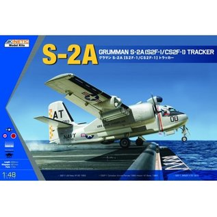 Kinetic Grumman S-2A (S2F-1 / CS2F-1) Tracker - 1:48