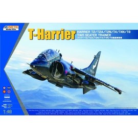 Kinetic Kinetic - T-Harrier (Two-seater Trainer T2/T4/T8) - 1:48