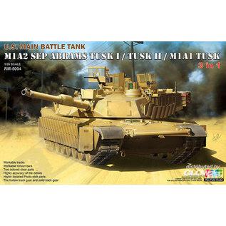 Ryefield Model  M1A2 SEP Abrams Tusk I/Tusk II/M1A1 Tusk in 1:35