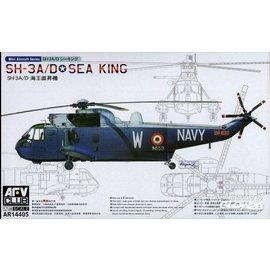 AFV-Club AFV-Club -  SH-3A SEA KING (2 kits per box) in 1:144