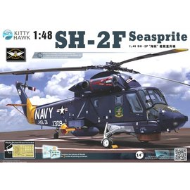 "Kitty Hawk Kitty Hawk - SH-2F ""Seasprite"" in 1:48"
