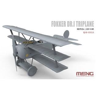 MENG Fokker Dr. I Limited Edition, mit Büste- 1:32