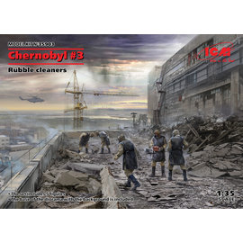 ICM ICM - Chernobyl 3 - Rubble Cleaners - 1:35