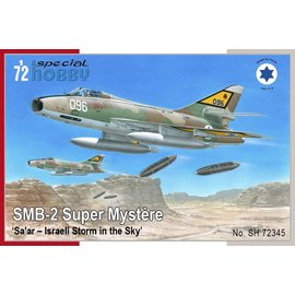 "Special Hobby Special Hobby - SMB-2 Super Mystère ""Sa'ar – Israeli Storm in the Sky"" - 1:72"