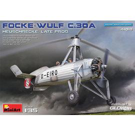 MiniArt MiniArt -  Focke-Wulf FW C.30A Heuschrecke Late Prod - 1:35