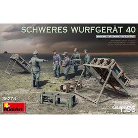MiniArt MiniArt - Schweres Wurfgerät 40 in 1:35