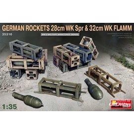 MiniArt MiniArt - German Rockets 28cm WK Spr & 32cm WK Flamm in 1:35